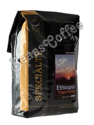 Кофе Ethiopia Yirgacheffee (Эфиопия Иргачиф) в зернах 1 кг