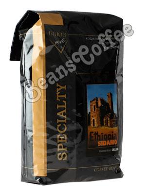 Кофе Ethiopia Sidamo в зернах 1 кг