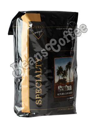 Кофе Cuba Altura Lavado в зернах 1 кг