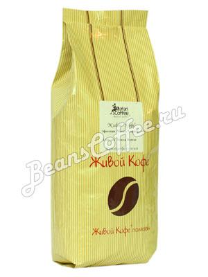 Живой кофе в зернах Эфиопия Мокко Харрар 1 кг