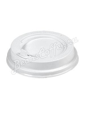 Крышка пластиковая с клапаном 300 мл (Белая)