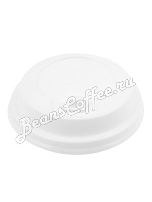Крышка для бумажных стаканов Illy с клапаном 80 мм (Белая)