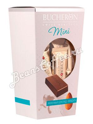 Шоколадные конфеты Bucheron Mini молочный с миндалем 171 гр