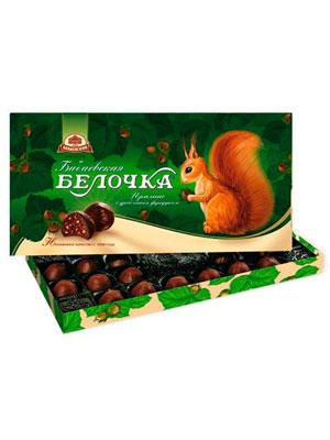 Конфеты Бабаевские Белочка 400 гр