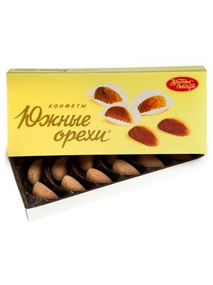 Конфеты Красный Октябрь Южные орехи 145 гр