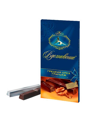 Шоколад Бабаевский Грецкий орех Грильяж 100 гр