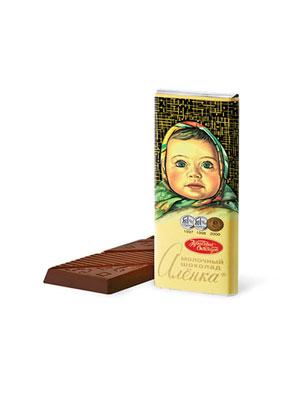Шоколад Красный Октябрь Аленка 60 гр