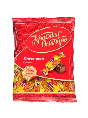 Конфеты Красный Октябрь Ласточка 250 гр