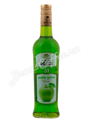 Сироп Don Dolce Яблоко зеленое 0.7 л