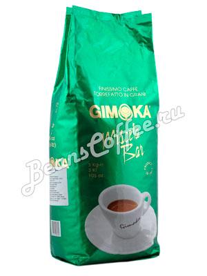 Кофе Gimoka в зернах Miscela Bar Verde 3 кг