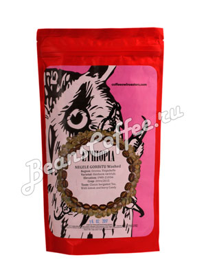 Кофе Owl в зернах Ethiopia Negele Gorbitu Washed 250 гр