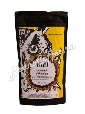 Кофе Owl в зернах Panama Elida Natural 250 гр