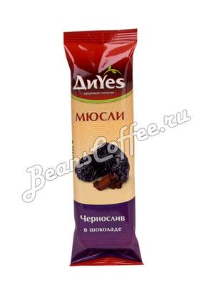 Мюсли Diyes Чернослив в шоколаде