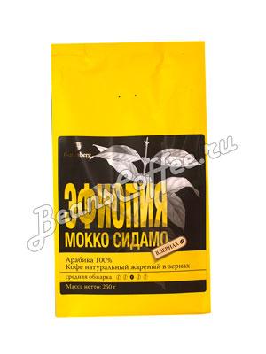 Кофе Gutenberg в зернах Эфиопия Моко Сидамо