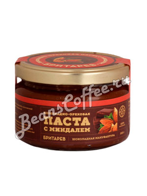 Бритарев шоколадно-ореховая паста с миндалем 200 гр