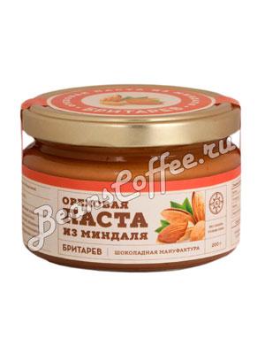 Бритарев ореховая паста с миндалем 200 гр