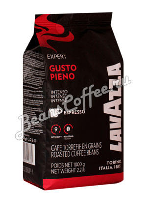 Кофе Lavazza в зернах Espresso Vending Gusto Piena 1 кг в.у.