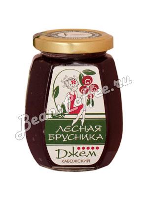 Кабожский джем лесная брусника 220 гр