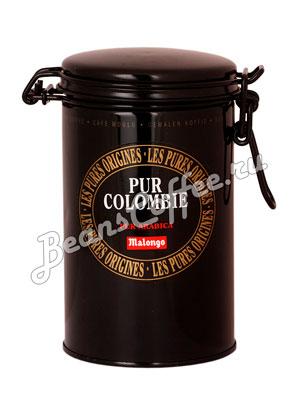 Кофе Malongo молотый Pur Colombie 250 гр (ж.б.)