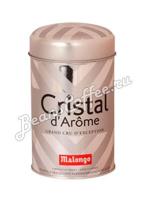 Кофе Malongo молотый Кристальный аромат 250 гр (ж.б.)