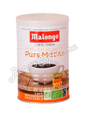 Кофе Malongo молотый Матан Лежер 250 гр (ж.б.)