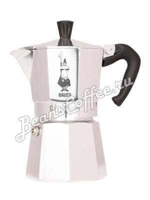 Гейзерная кофеварка Bialetti Moka Express 4 порции (160 мл)