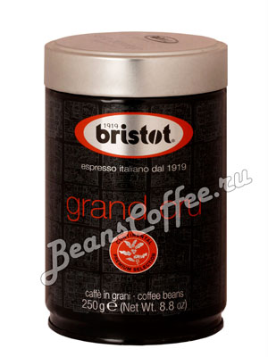 Кофе Bristot в зернах Santo Domingo 250 гр