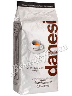 Кофе Danesi в зернах Doppio