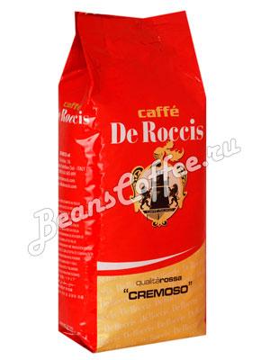 Кофе De Roccis Rossa в зернах 1 кг