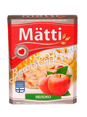 Matti Каша овсяная с яблоком