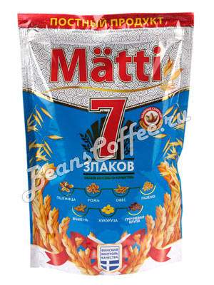 Matti Хлопья быстрого приготовления 7 злаков