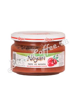 Фруктовое пюре Noyan из кизила 270 гр