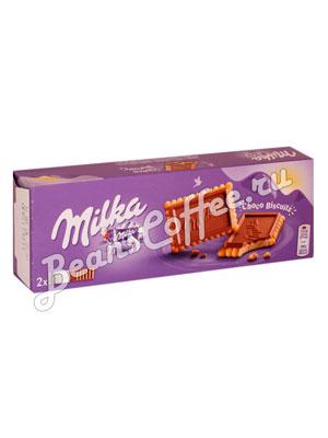 Бисквитное печенье Milka Choco biscuits 150 гр
