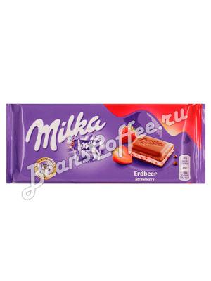 Шоколад Milka Strawberry 100 гр