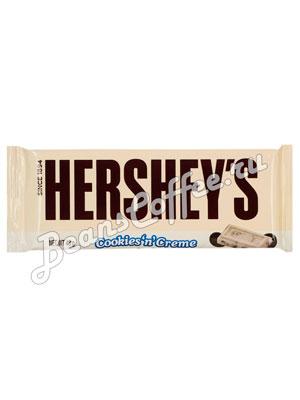 Шоколад Hersheys Cookies Creme Bar 43 гр