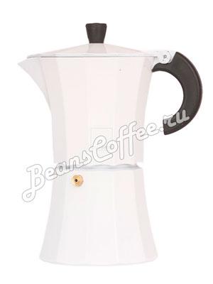 Гейзерная кофеварка Morosina (белая)  6 порций