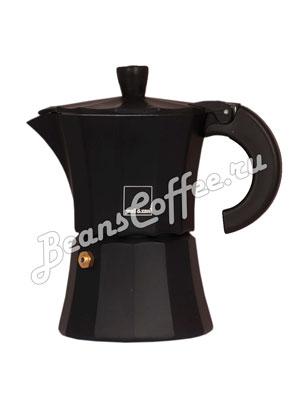 Гейзерная кофеварка Morosina (черная) 3 порции