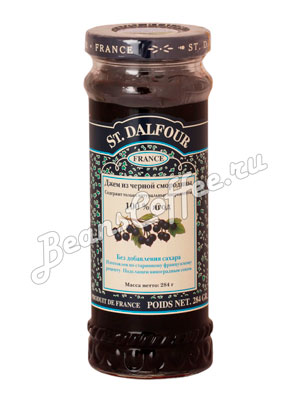 Джем St.Dalfour Черная смородина 284 гр