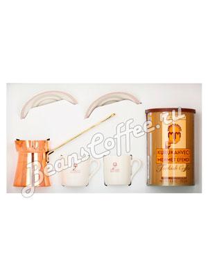 Подарочный набор Mehmet Efendi (кофе молотый 250 гр, чашки фарфоровые и турка)