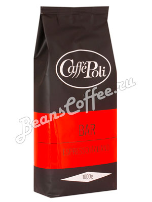 Кофе Poli в зернах Bar
