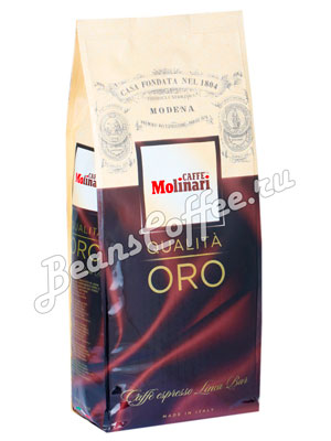 Кофе Molinari в зернах ORO 1кг
