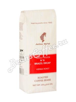 Кофе Julius Meinl (Юлиус Майнл) в зернах Brazil Decaf №6