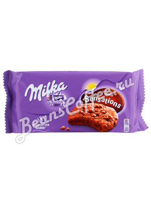Бисквитное печенье Milka Sensations soft choc inside 156 гр