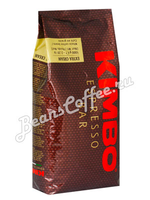 Кофе Kimbo в зернах Extra Cream