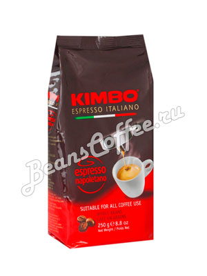 Кофе Kimbo (Кимбо) в зернах Espresso Napoletano 250 гр