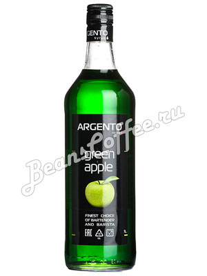Сироп Argento Яблоко 1 литр