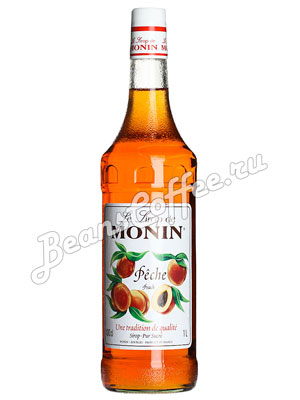 Сироп Monin Персик 1 л