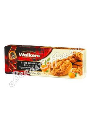 Бисквитное печенье Walkers с имбирем 150 гр