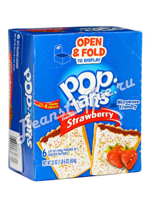 Бисквит Pop-Tarts Strawberry Печенье 624 гр