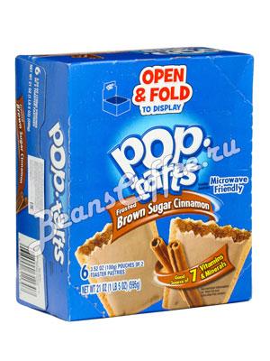 Бисквит Pop-Tarts Brown Sugar Cinnamon Печенье 595 гр